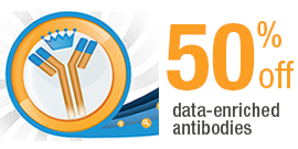 Crown flash! 50% off Data-enriched Antibodies